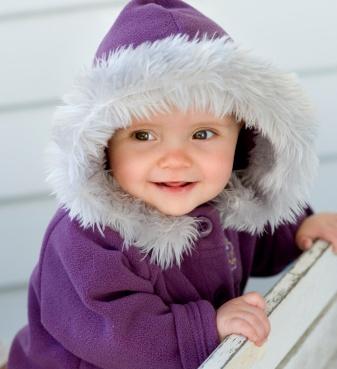 Giữ ấm cho bé mùa đông - khó mà dễ