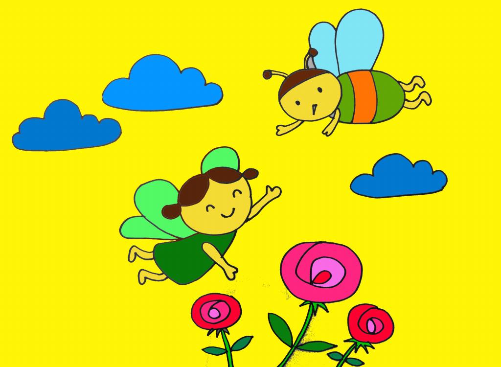 thơ: Ong và bướm