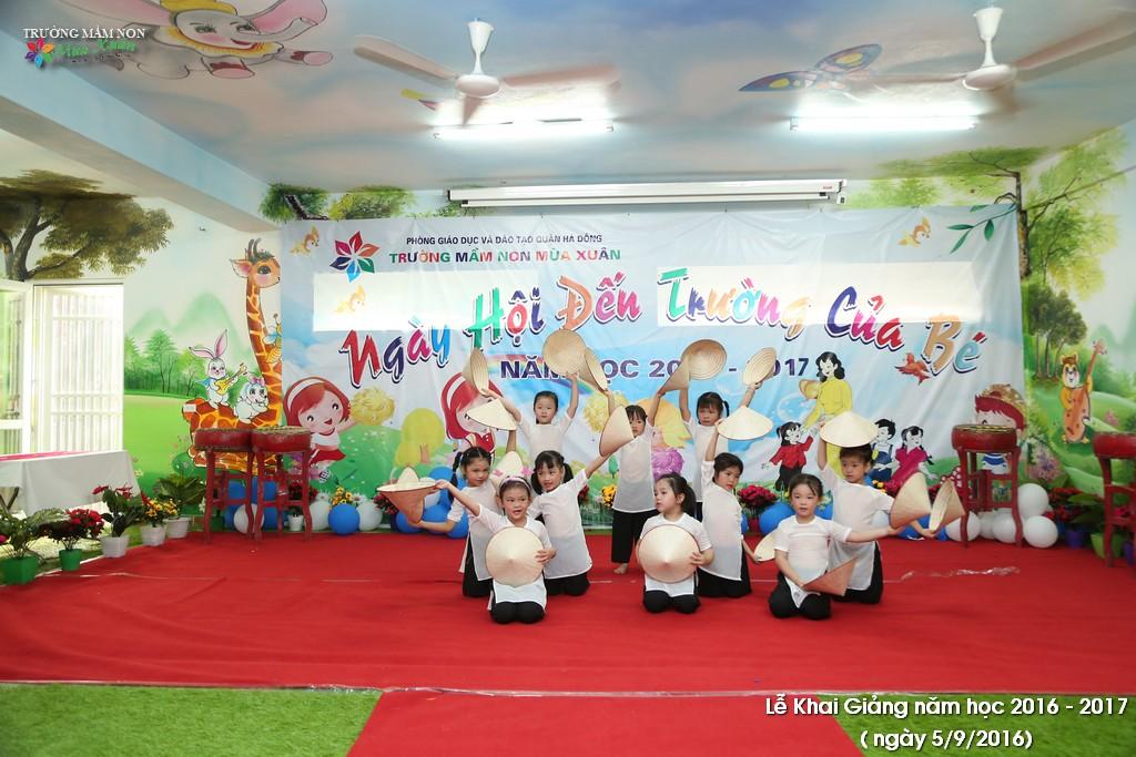 Lễ khai giảng năm học mới 2016 - 2017