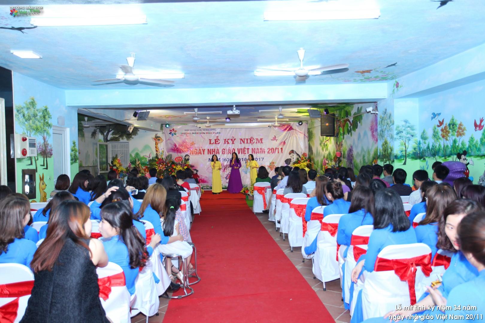 Hoạt động chào mừng ngày nhà giáo Việt Nam 20/11/2016