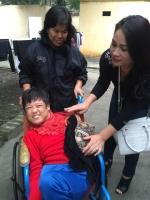 Từ thiện tại TT nuôi dưỡng người già cô đơn và trẻ khuyết tật