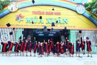 Lễ ra trường học sinh 5 tuổi năm học 2016 - 2017